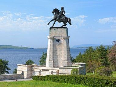 Monument of Vasily Tatishchev in Togliatti, Russia