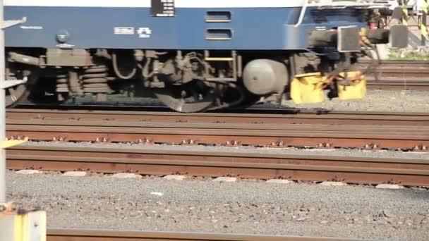 vlak na kolejích