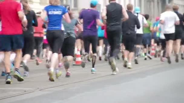 lidé na půlmaraton události