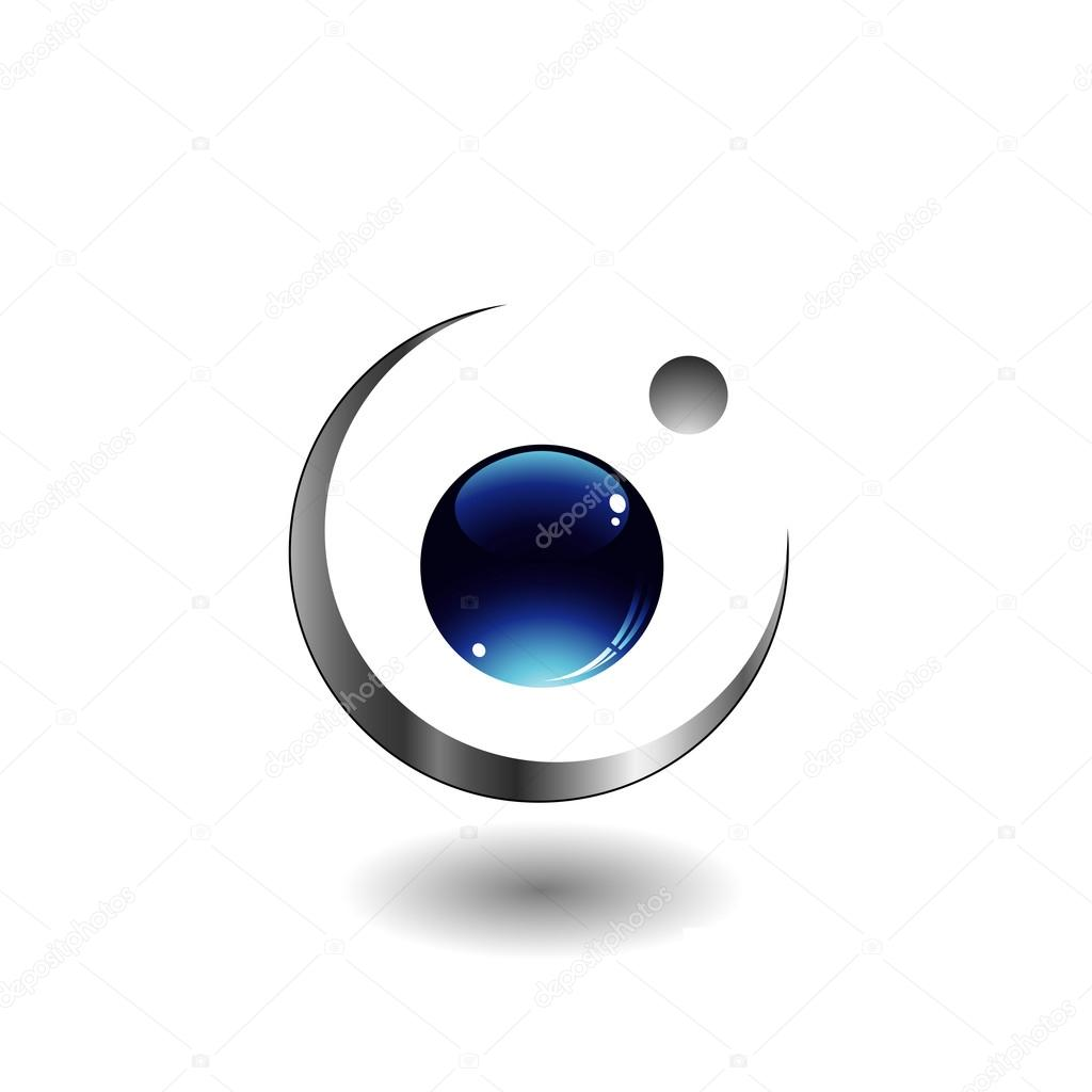 3d eye logo stock vector sanayamirza 18771755
