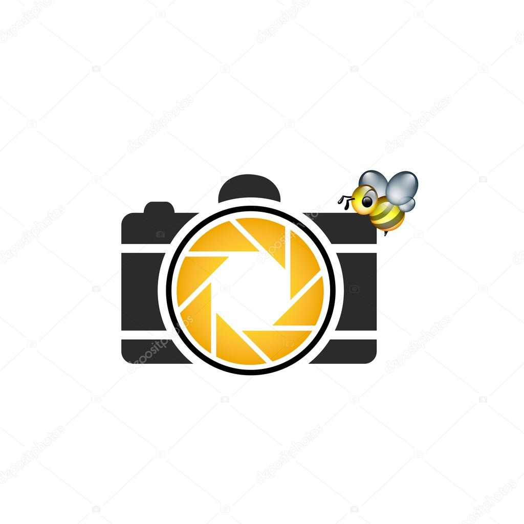 Honeybee photography logo