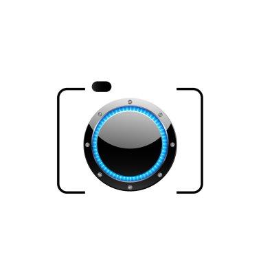 Glossy photography logo