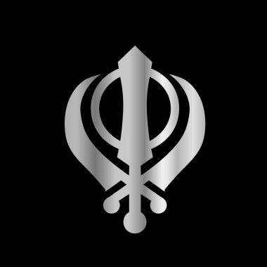 Symbol of Sikhism Religion