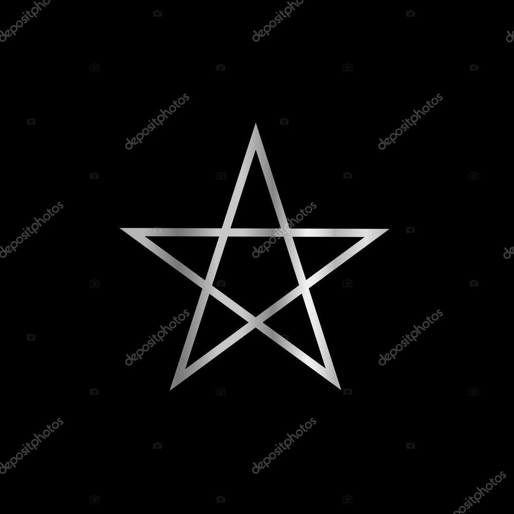 Pentagram religious symbol of satanism stock vector sanayamirza pentagram religious symbol of satanism stock vector biocorpaavc Choice Image