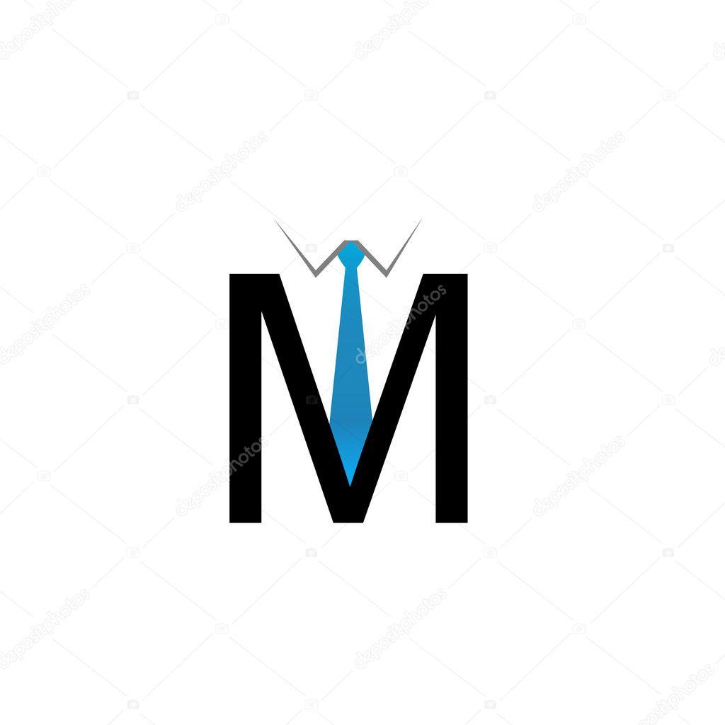 M Alphabet Logo Stock Vector Shawlin #19602317