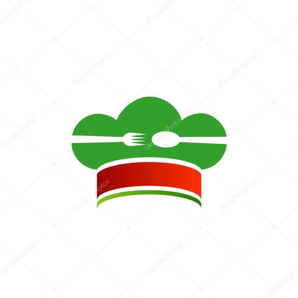 Logo per la cucina italiana vettoriali stock for Cucina logo