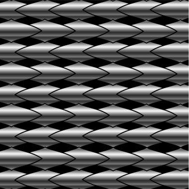 Stainless steel bars background