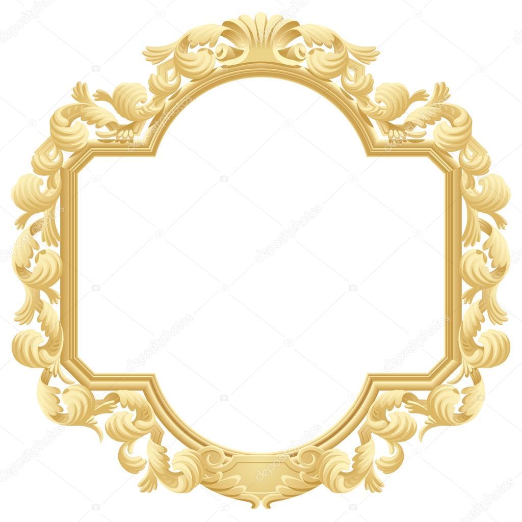 Encadrement Baroque cadre baroque — image vectorielle maystra © #30828237