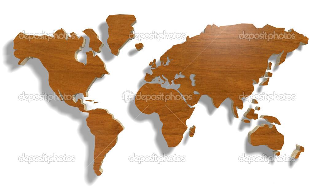 mapa mundo madeira mapa múndi madeira — Stock Photo © fabioberti.it #17148273 mapa mundo madeira