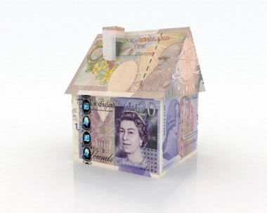 house pounds banknotes