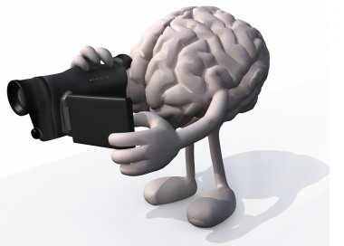 Human brain video maker