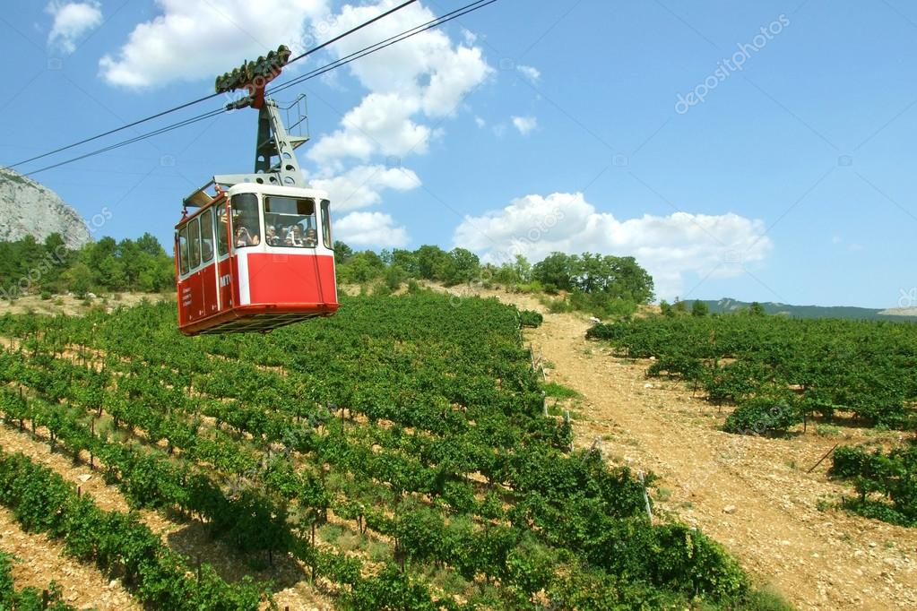 Funicular in Crimea