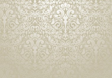 Wallpaper design with silver tones stock vector
