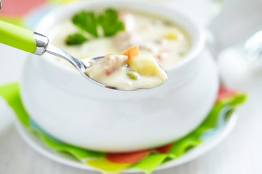 Chicken pot soup