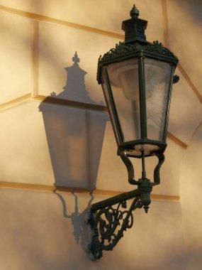 Historical decorated lantern