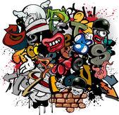 Fotografie graffiti prvky