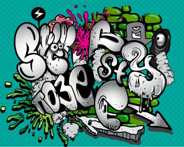 Graffiti elements