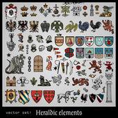 Fotografie Heraldic elements