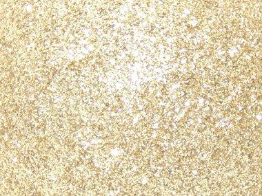 Gold background glitter
