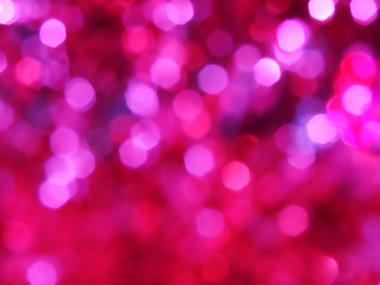 Soft light on pink background
