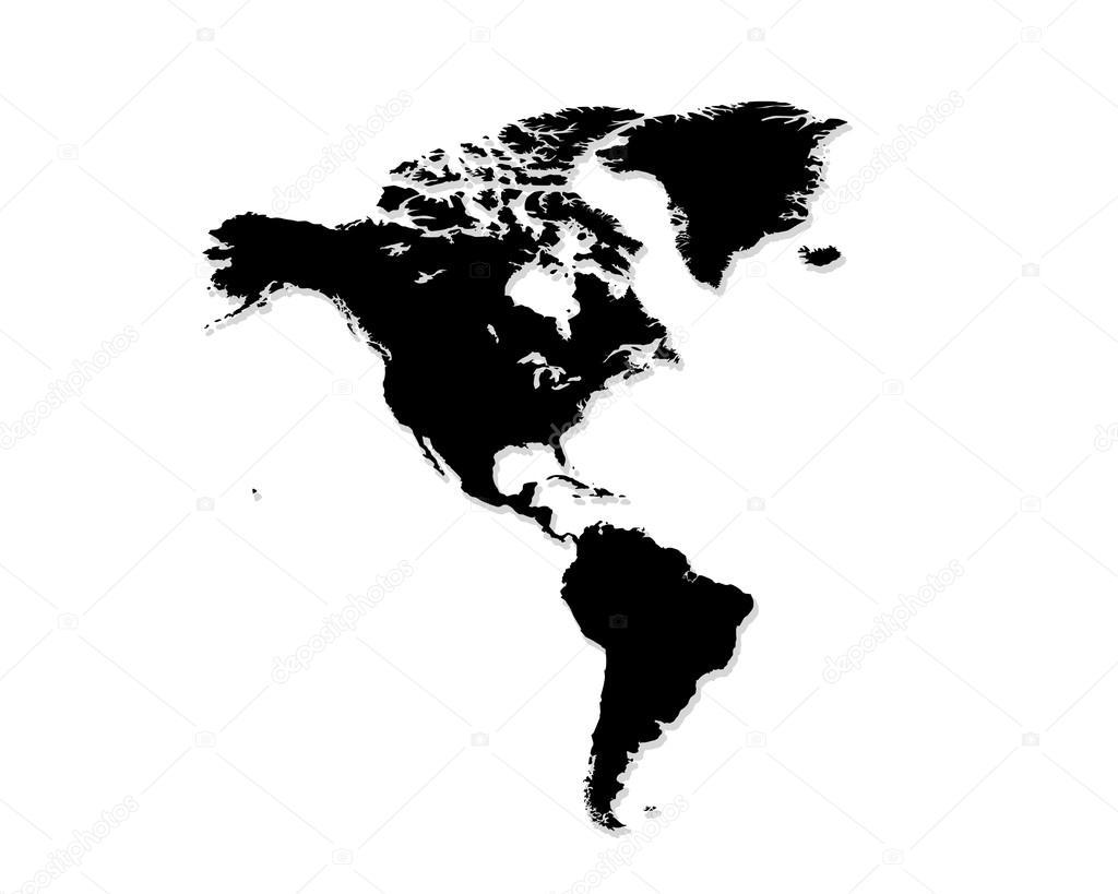 Estados unidos mapa blanco y negro foto de stock for Mappa mondo bianco e nero