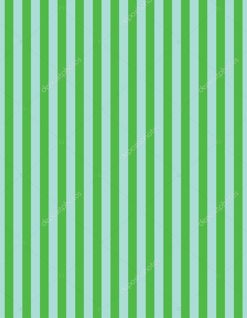 Stock Illustration Green And Blue Vertical Striped on Green Border