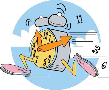 Running clock