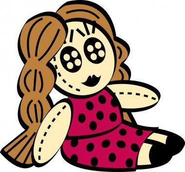 Cartoon Rag Doll