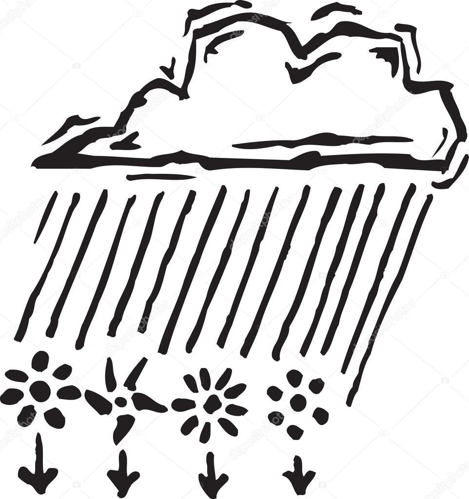 Cloud Raining Down
