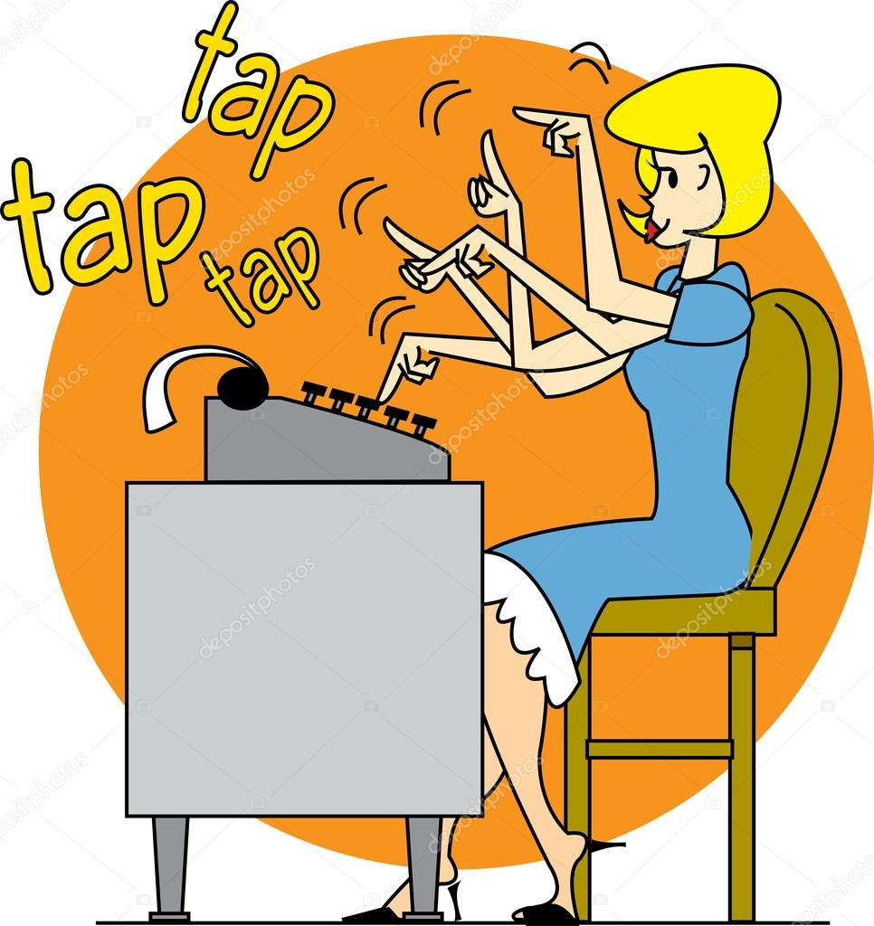 theoretical girls computer dating clipart