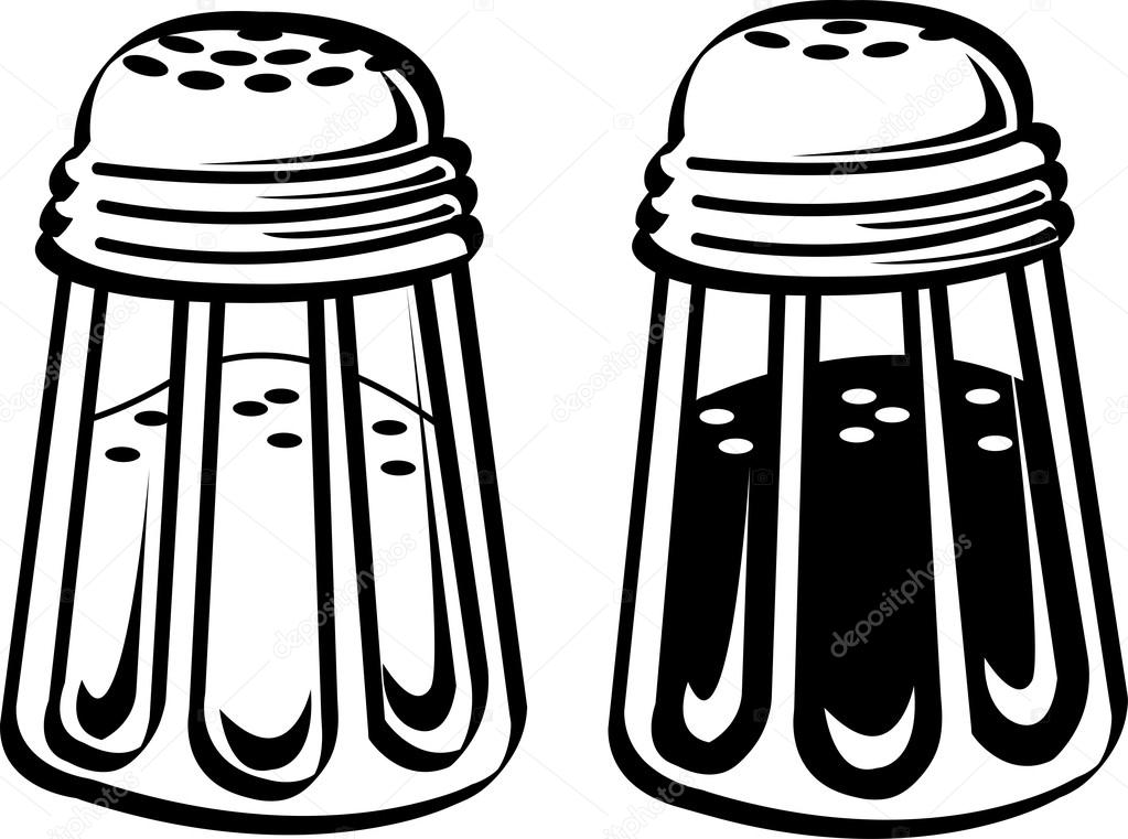 Cartoon Salt And Pepper Shakers Design Decoration