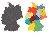 Fotografie Deutschland-Karte