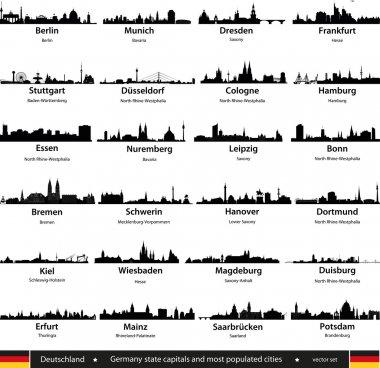 "Картина, постер, плакат, фотообои ""города германии "", артикул 34263665"