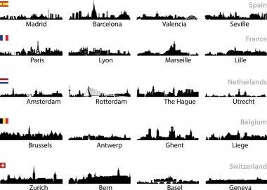European cities set