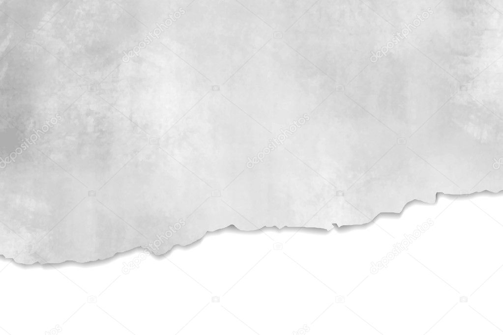 Torn paper texture - abstract grey background design
