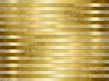 Golden background texture - grunge metal stripes