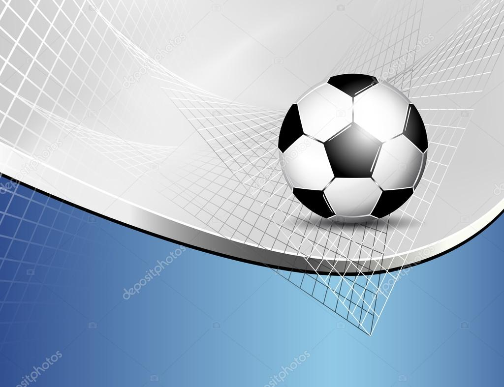 Fondo de bal n de f tbol vector de stock doozie 28716355 for Fondos de futbol