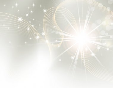 Starburst - light abstract background gradient