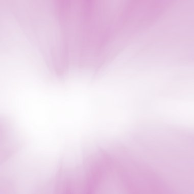 Soft pink background - starburst