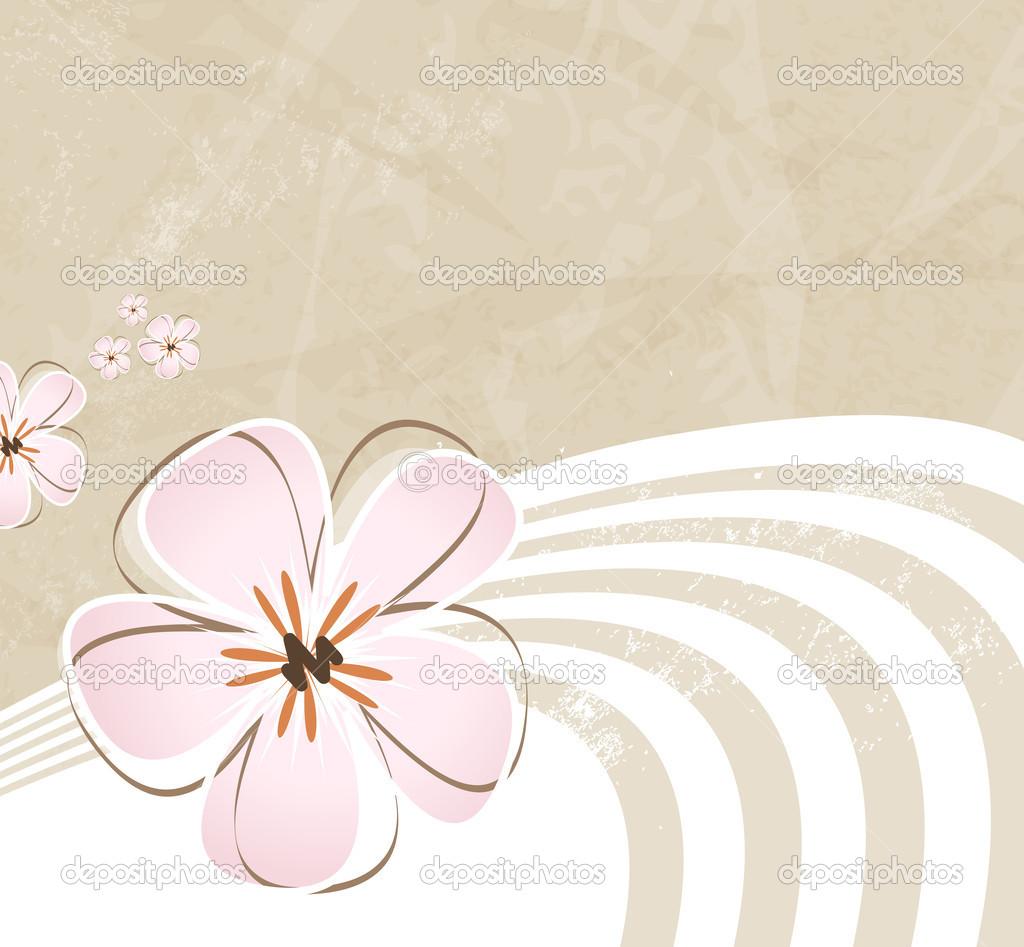 illustration soft floral - photo #1