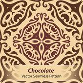 csokoládé vektor zökkenőmentes minta
