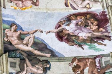The Creation of Adam, Sistine Chapel, Vatican
