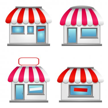 Simple Storefront Icons