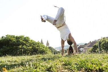 Awesome stunts capoeira