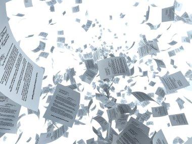 Paper flying
