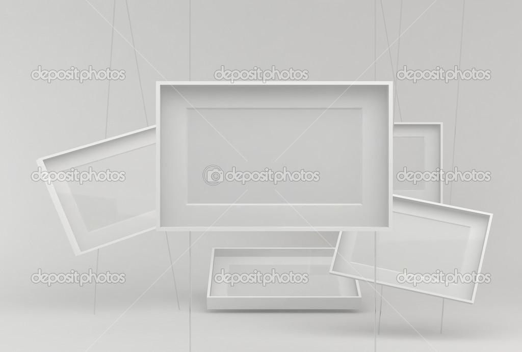 Marcos blancos — Fotos de Stock © marcello77 #16264911