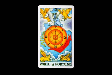 Tarot card whell of Fortune