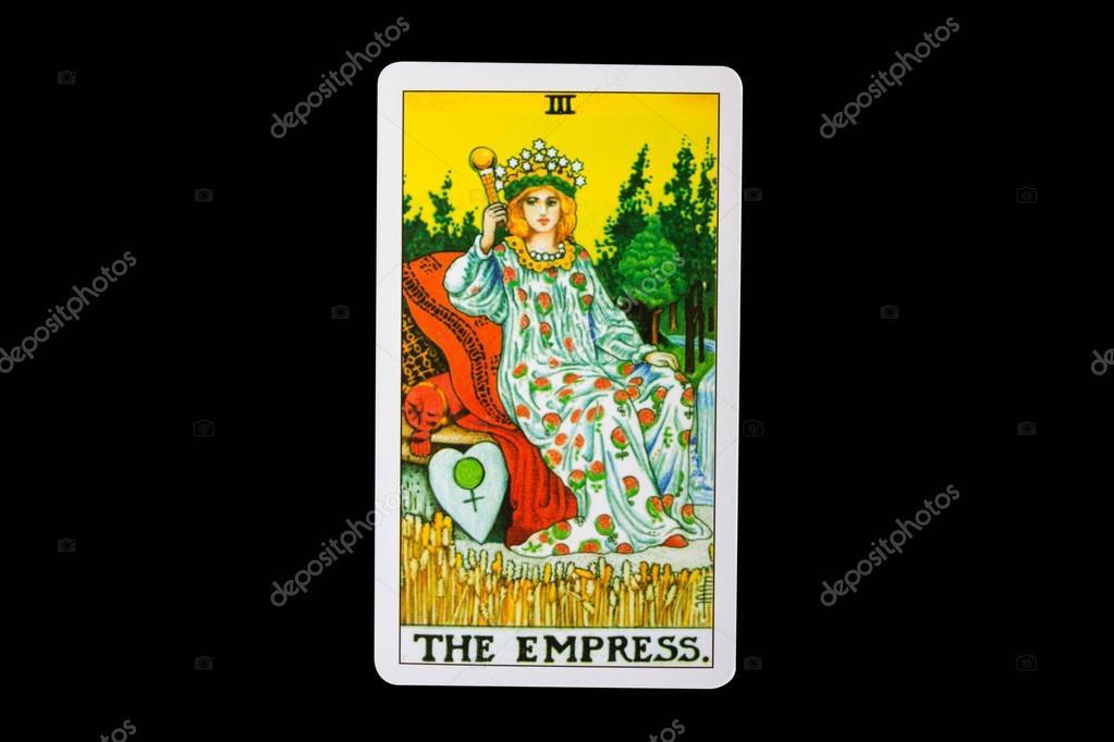 Karty Tarot Cesarzowa Zdjecie Stockowe C Wstockphoto 39668681