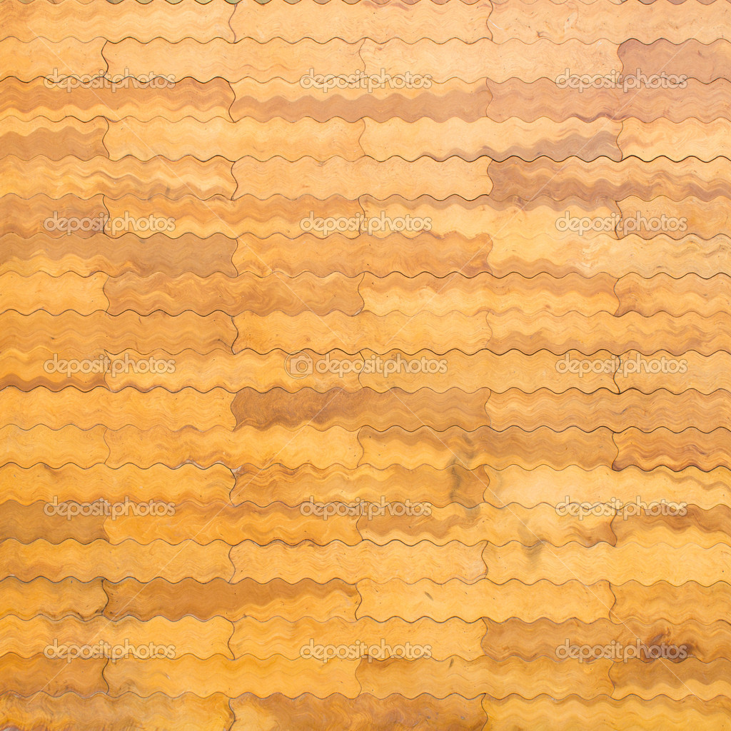 Wood Block Wall Wood Block Wall Texture  Stock Photo © Wstockphoto 39812247