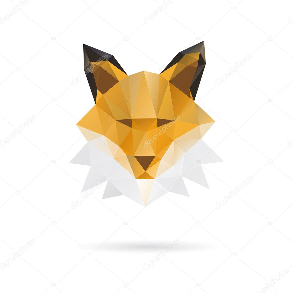fox triangles stock vectors royalty free fox triangles